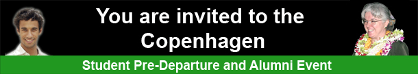 You are invited to the Copenhagen Pre-Departure and Alumni Event