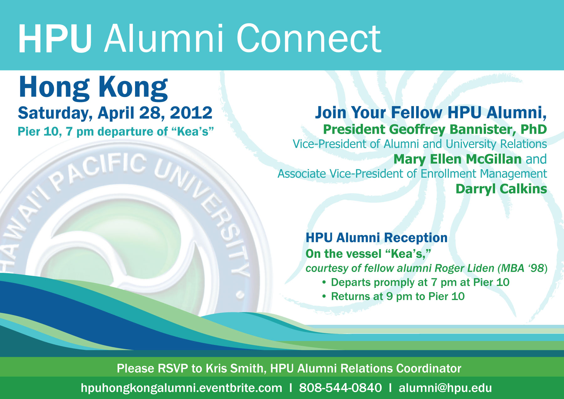 Hong Kong Alumni Reception