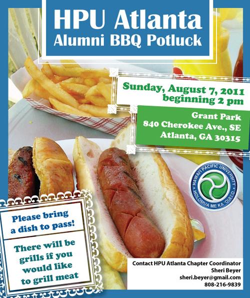 HPU Atlanta Alumni BBQ Potluck