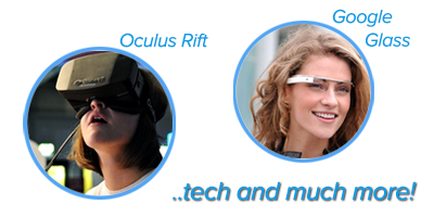 Oculus Rift and Google Glass