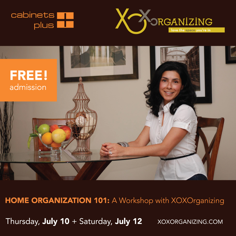 XOXOrganizing Home Organization Flyer