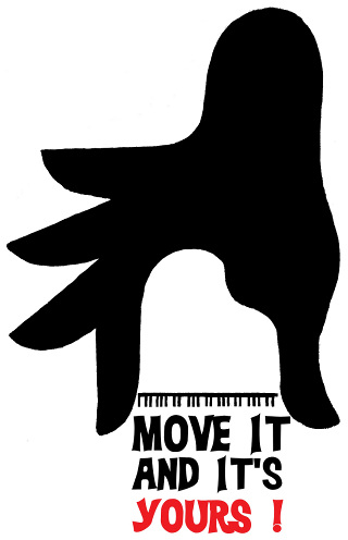 Move It And It's Yours Poster Graphic