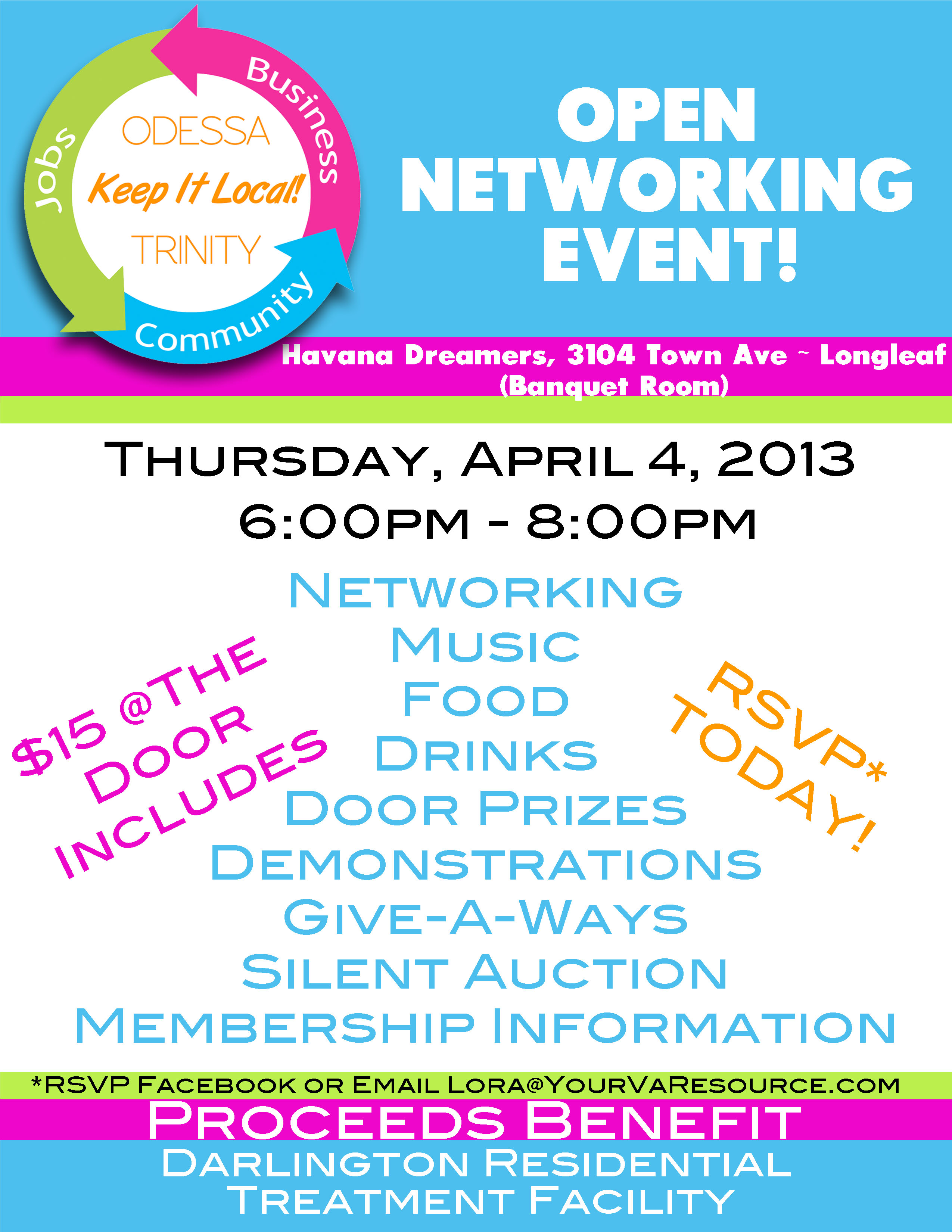 Keep It Local Networking Invite