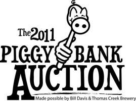 Piggy Bank Auction made possible by Bill Davis and Thomas Cr...
