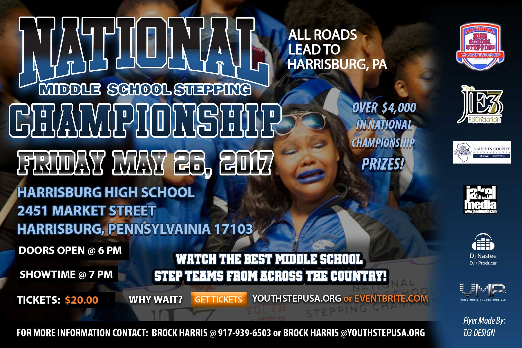 National Middle School Stepping Championship