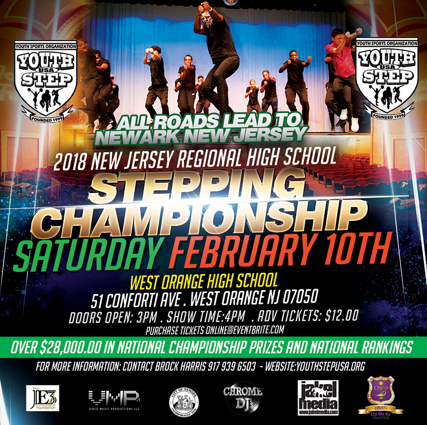 2018 Youth Step New Jersey Regional Stepping CHampionship