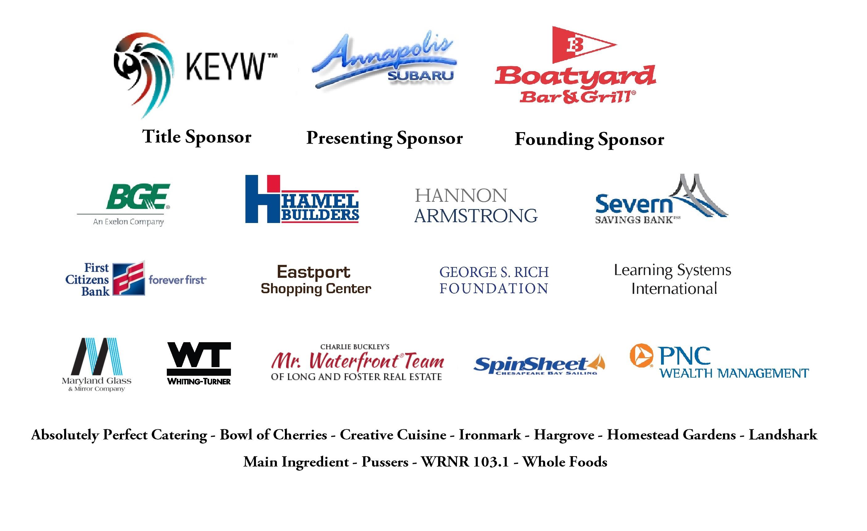 Boatyard Sponsors