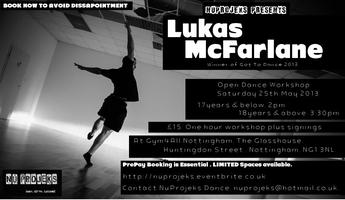 Dance Workshop with Lukas McFarlane in Nottingham