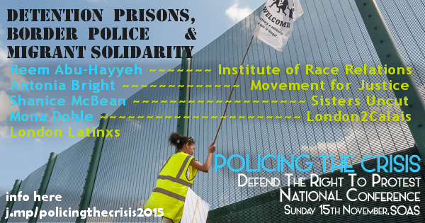 Detention Prisons, border police & migrant solidarity