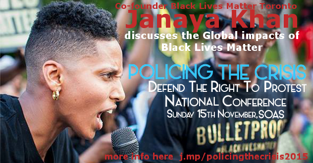 Janaya Khan #BlackLivesMatter
