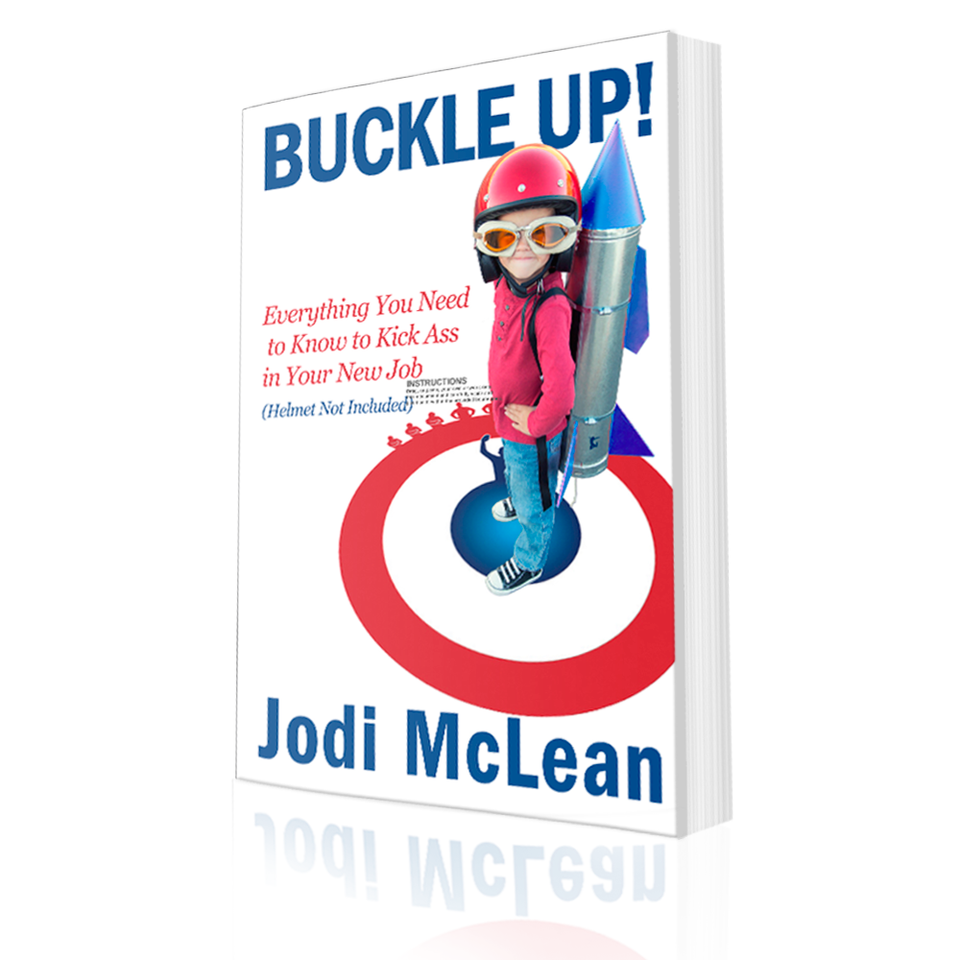 Jodi Mclean - Buckle Up - Cover