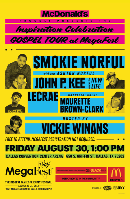 Inspiration Celebration Gospel Tour in Dallas