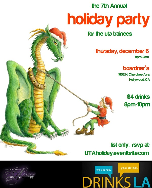the 7th Annual Holiday Party for the UTA Trainees