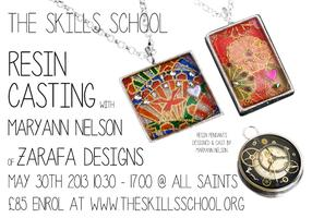 Resin Casting with Mary Ann Nelson of Zarafa Designs