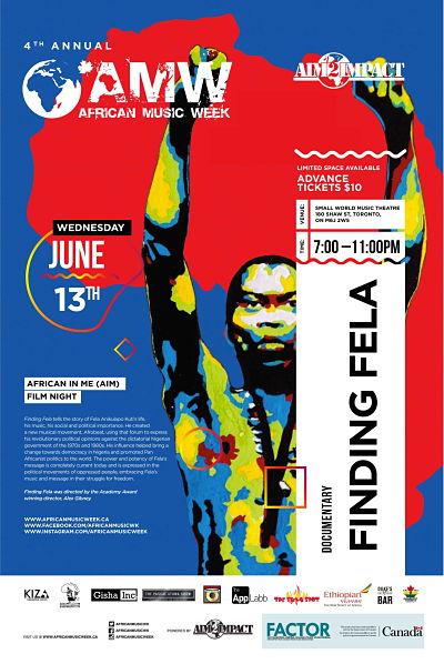 4th Annual Music Week - AIM Movie Night - Finding Fela