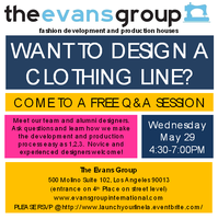 Want to design a Clothing Line?: FREE Q&A