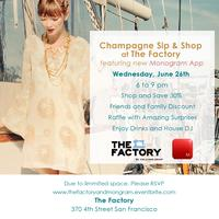 Women's Shopping Event with New Monogram app Online Magazine