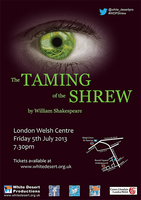 The Taming of The Shrew At The London Welsh Centre