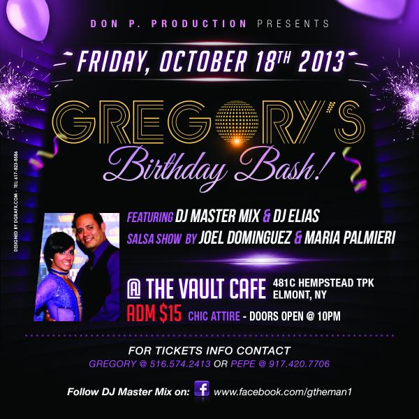 DJ Master Mix's Birthday Bash