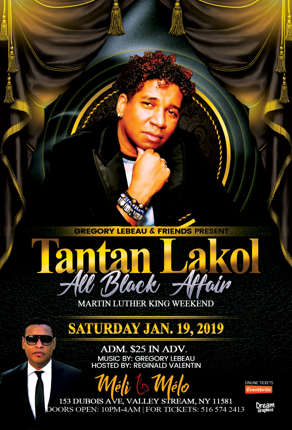 Tantan Lakol at Meli Melo Sat Jan 19, 2019