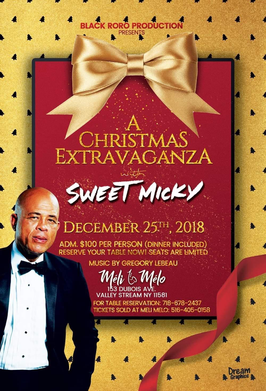 Sweet Micky Live @ Meli Melo Dec 25, 2018