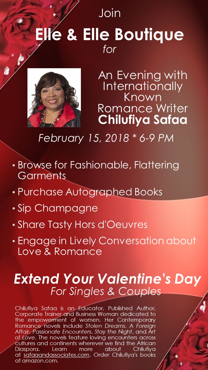Details for An Evening with Chilufiya Safaa