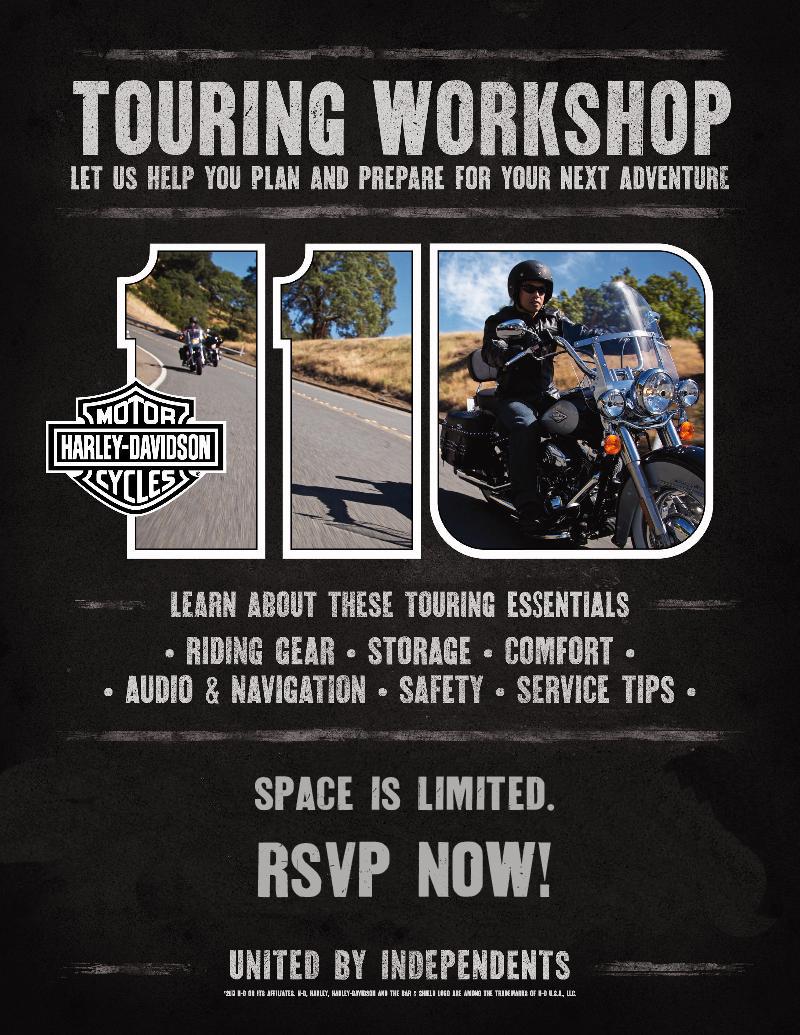 Touring Workshop 2013