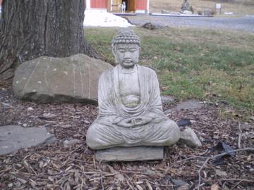 Buddha Amitabha in the Garden
