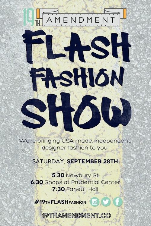 19th Flash Fashion