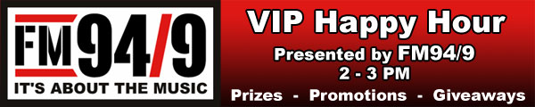 VIP Happy Hour presented by FM949