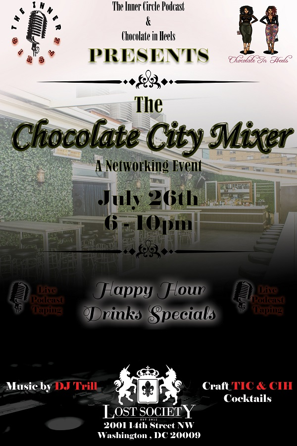 Chocolate City Mixer Flyer