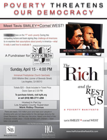 The Rich and The Rest of Us: A Poverty Manifesto Book Tour
