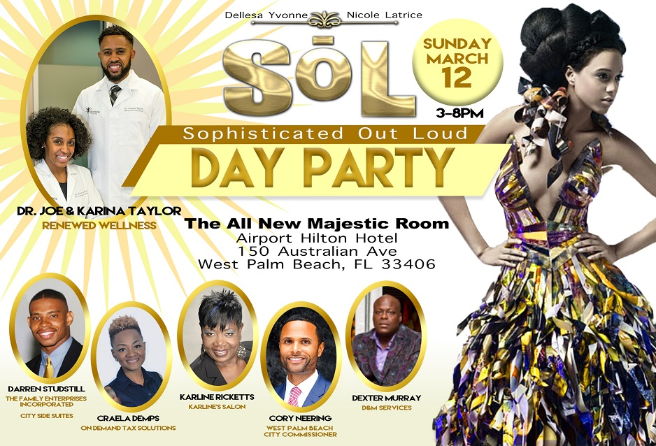 sophisticated out loud day party tickets sun mar 12
