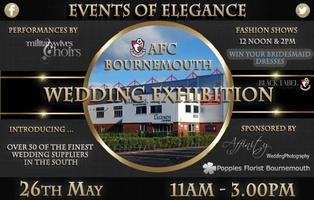 Dorset Wedding & Lifestyle Show AFC Bournemouth 26th May 11-3