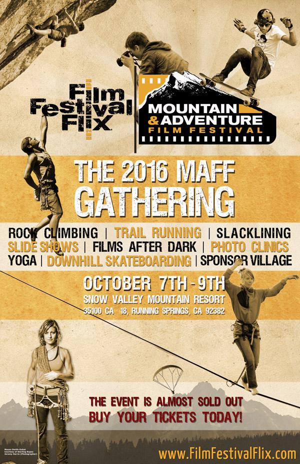 MAFF Gathering Event Poster