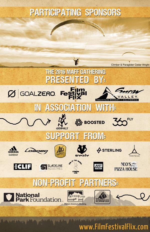 MAFF Gathering Sponsor Page