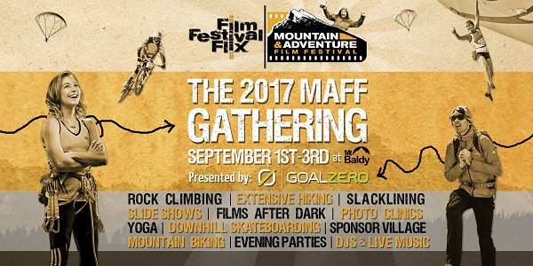 Mountain and Adventure Festival Gathering Poster