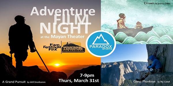 Adventure Film Night in Denver