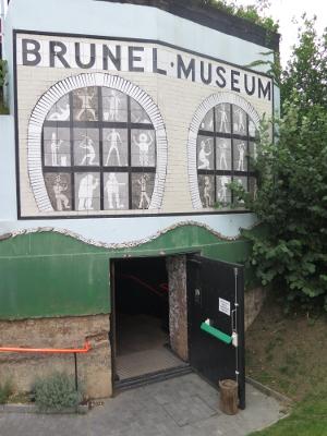 Brunel Museum Tunnel Shaft Entrance