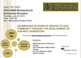 2013 NABA Membership & Scholarship Reception