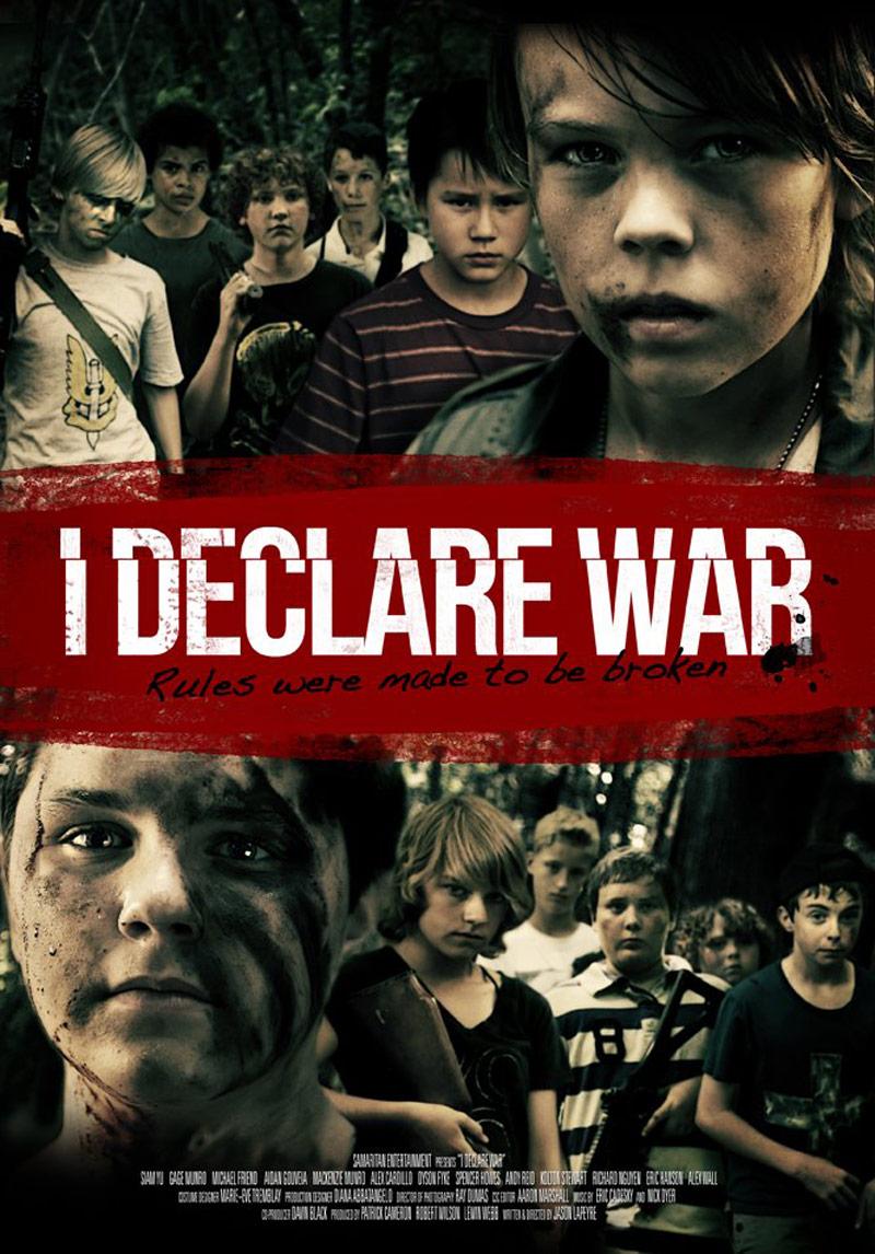 I Declare War Poster