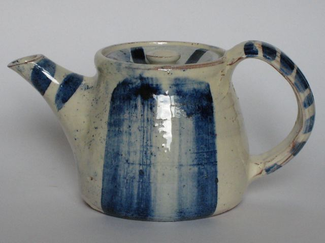 Ceramic teapot by David Garland, 2012, 15cm high