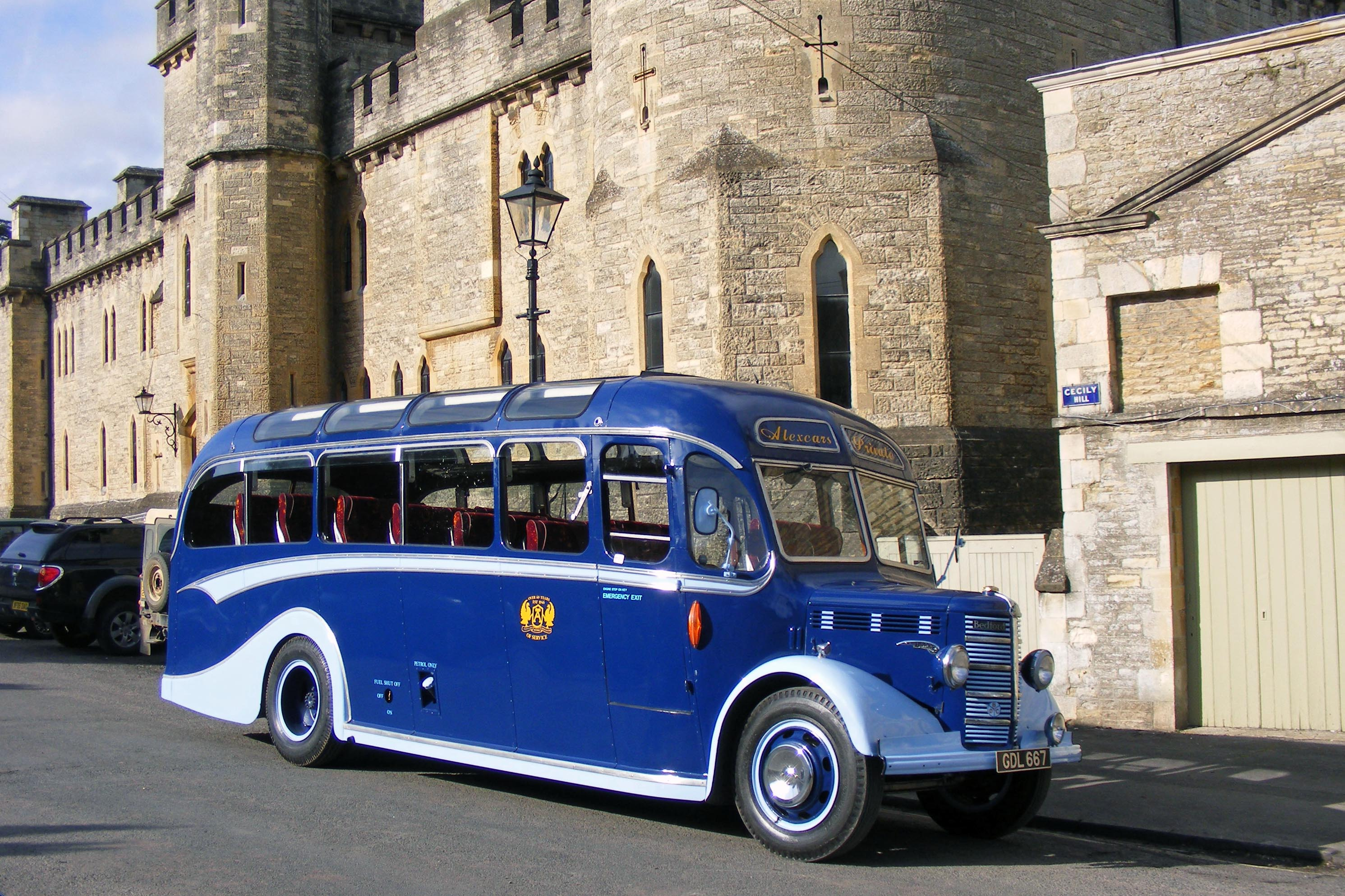 Old Babs, the Alexcars 1950s vintage bus