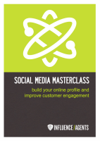 Social Media Masterclass Workbook