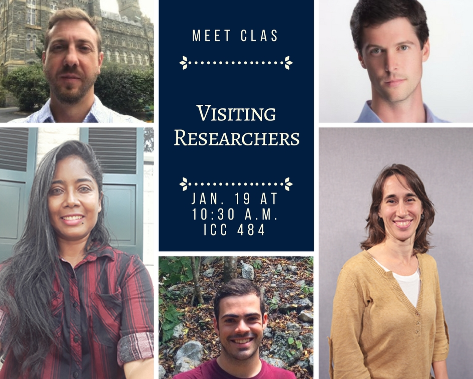 visiting researcher meet and greet flyer