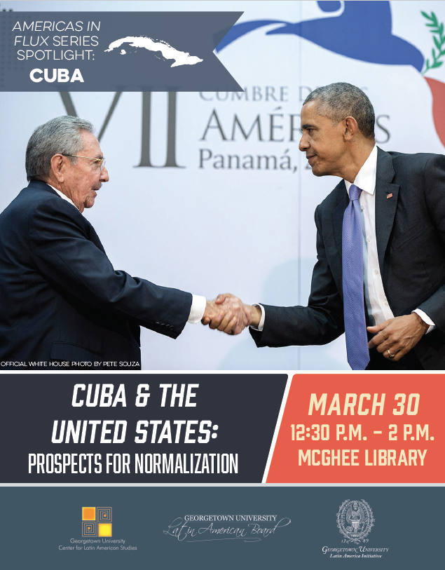 Cuba & the United States Poster