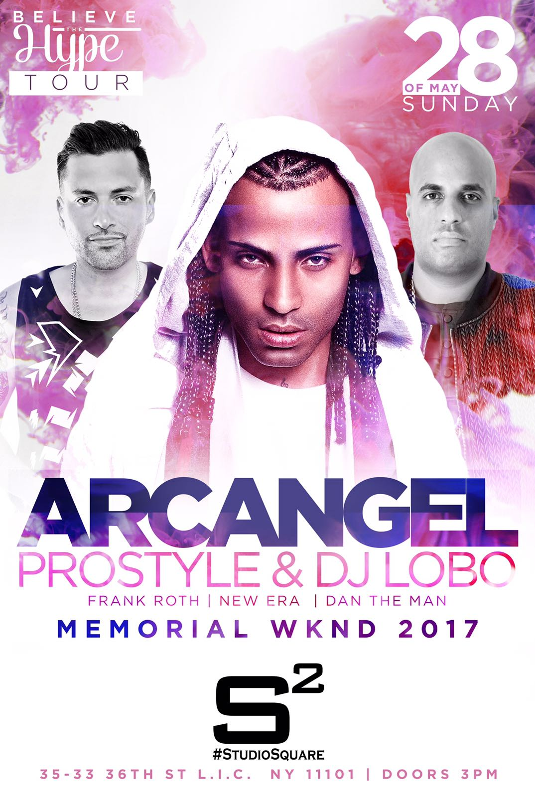 Arcangel, Prostyle, Lobo at Studio Square