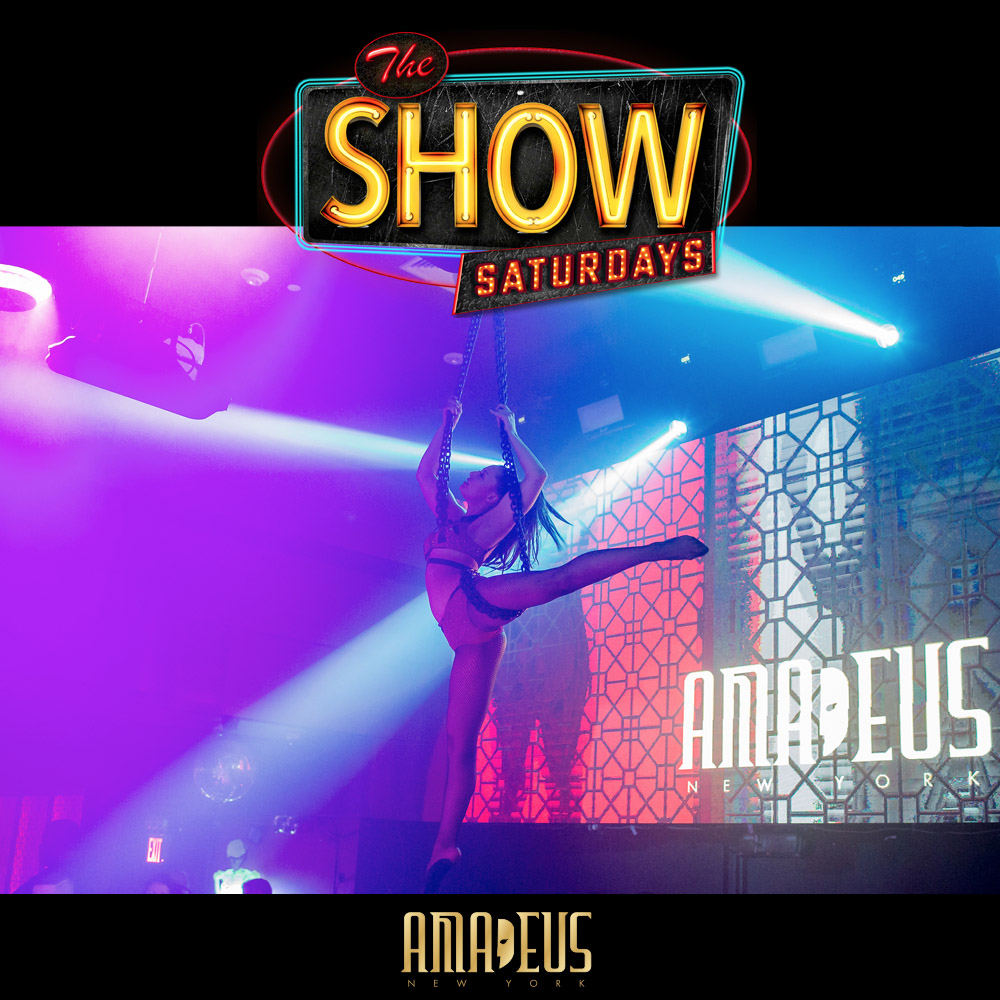 Show Saturdays at Amadeus Nightclub in Queens