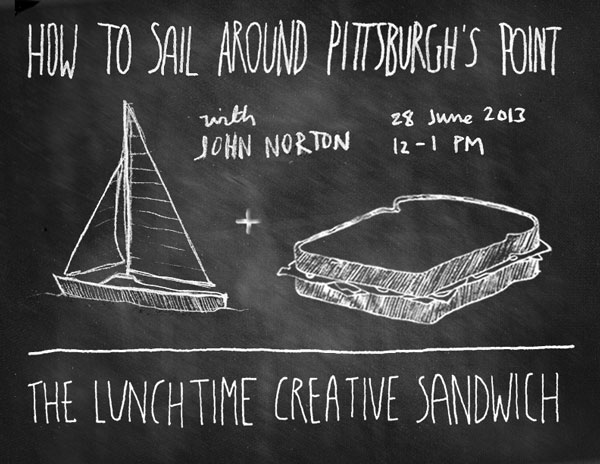 How to Sail around Pittsburgh's Point, with John Norton