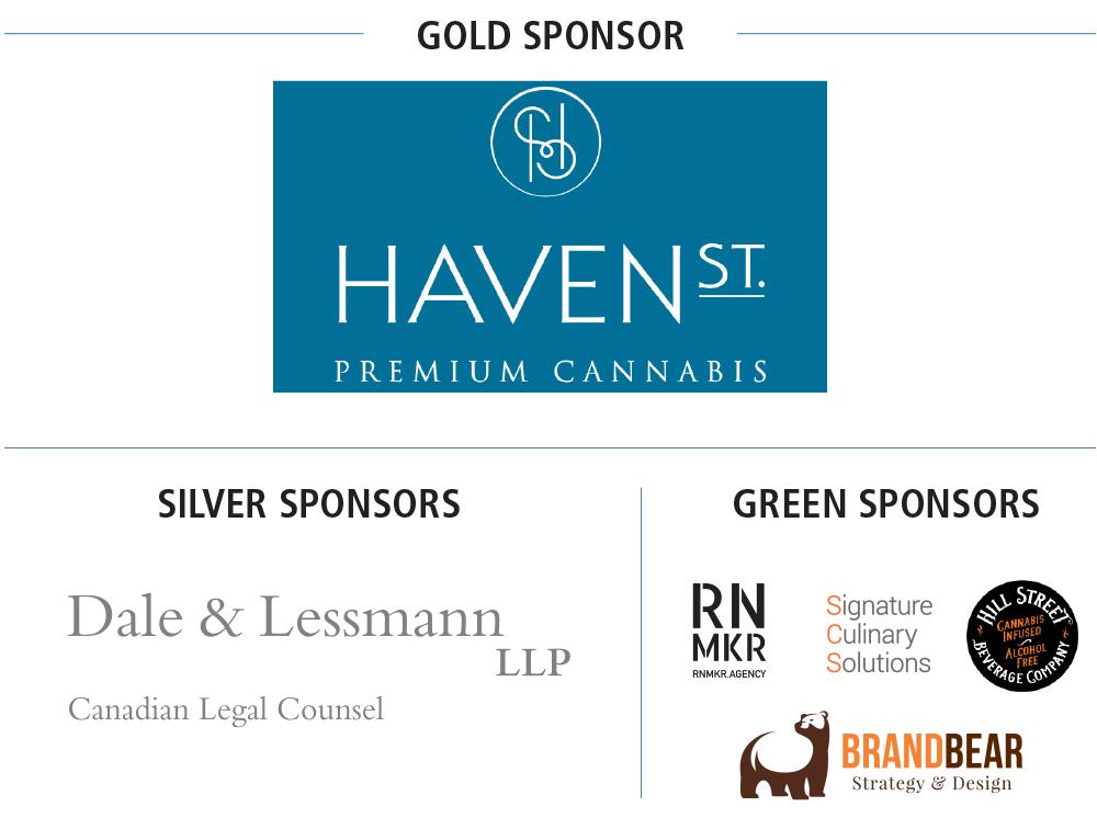 sponsor logos: Dale & Lessmann LLP, Hill Street Beverage Company, Signature Culinary Solutions, Brand Bear, RNMKR Agency